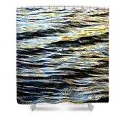 Through Darkness Came Light Shower Curtain