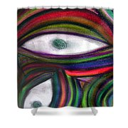 Through Other's Eyes Shower Curtain