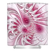 Through Rose-colored Glasses Shower Curtain