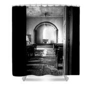 Through The Doorway Shower Curtain