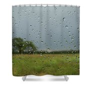 Through The Raindrops Shower Curtain