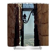 The Messiah's Alley Shower Curtain