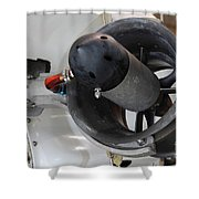 Thruster On A Deep Sea Submarine Shower Curtain