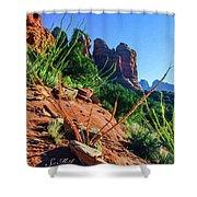 Thunder Mountain 07-006 Shower Curtain