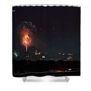 Thunder On Red Mt Shower Curtain