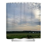 Thunder Road Shower Curtain