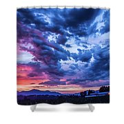 Thunder Storm Shower Curtain