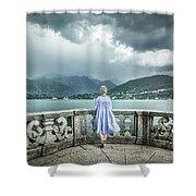 Thunder Symphony Shower Curtain