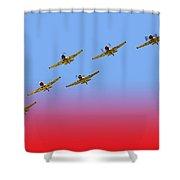 Thunder X Six Shower Curtain
