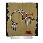 Thunderbeings Shower Curtain