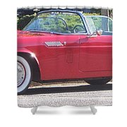Thunderbird Classic 1955 Shower Curtain