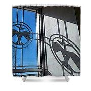 Thunderbird Motif Shower Curtain