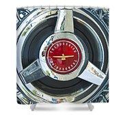 Thunderbird Rim Emblem Shower Curtain
