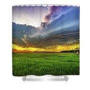 Thunderbird Shower Curtain by Stuart Deacon