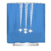 Thunderbirds Of The Usaf Shower Curtain