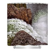 Thundering Waters Shower Curtain