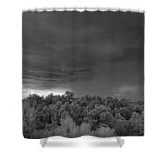 Thunderstorm Ir 0731 Shower Curtain