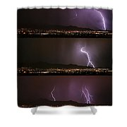 Thunderstorm Sequence Shower Curtain