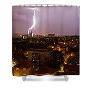 Thunderstorm Shower Curtain