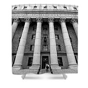 Thurgood Marshall United States Courthouse, Lower Manhattan New  Shower Curtain