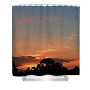Thursday Sunset Shower Curtain