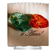 Ti Amo Shower Curtain