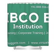 Tibco Be Training Institution Shower Curtain