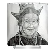 Tibetan Delight Shower Curtain