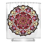 Tibetan Mandala Shower Curtain