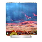 Tick Tock Diner, New Jersey Shower Curtain