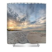 Tidal Edge Shower Curtain