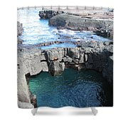 Tidal Pool Shower Curtain