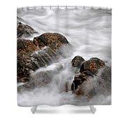 Tidal Wash, Sanna Bay, Scotland Shower Curtain
