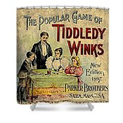 Tiddledy Winks Shower Curtain