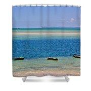Tide Colours Shower Curtain