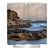 Tide Line Shower Curtain