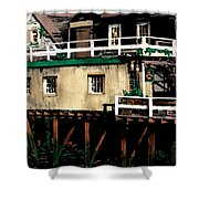 Tide Out At Kennebunkport Shower Curtain
