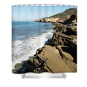 Tide Pools Area Shower Curtain