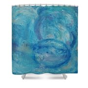 Tide Pools Shower Curtain