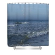 Tide Rolling In Ocean Isle Beach North Carolina Shower Curtain