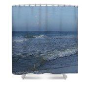 Tide Rolling In Ocean Isle Beach North Carolina Shower Curtain