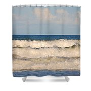 Tide Rolling To The Shores Shower Curtain