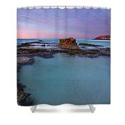 Tidepool Dawn Shower Curtain