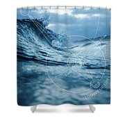 Tides Shower Curtain
