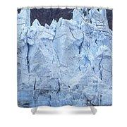 Tidewater Glacier In Glacier Bay Shower Curtain
