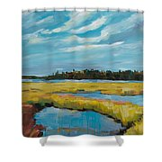 Tidewater II Shower Curtain