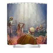Tidings Of Great Joy Shower Curtain