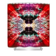 Tie Dye Sky Shower Curtain