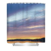 Tied Off In French Village, Nova Scotia Shower Curtain