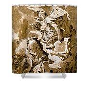 Tiepolo: Saint Jerome Shower Curtain